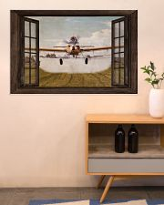 Agricultural Aircraft Window View 36x24 Poster poster-landscape-36x24-lifestyle-22