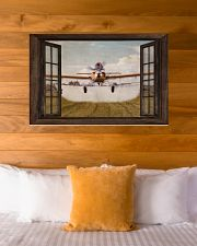 Agricultural Aircraft Window View 36x24 Poster poster-landscape-36x24-lifestyle-23
