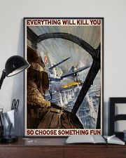 Aircraft Choose Something Fun 24x36 Poster lifestyle-poster-2