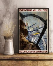 Aircraft Choose Something Fun 24x36 Poster lifestyle-poster-3