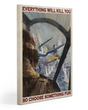 Aircraft Choose Something Fun Gallery Wrapped Canvas Prints tile