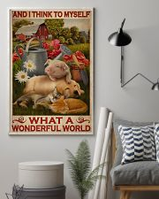 What A Wonderful World 24x36 Poster lifestyle-poster-1