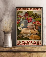 What A Wonderful World 24x36 Poster lifestyle-poster-3