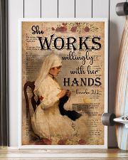 Nurse Proverbs 31 24x36 Poster lifestyle-poster-4