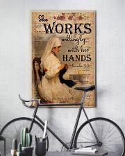 Nurse Proverbs 31 24x36 Poster lifestyle-poster-7