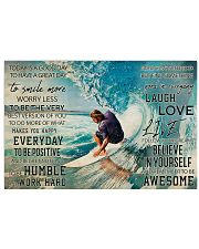 Surfing Today Is Good Day 36x24 Poster front