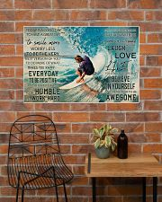 Surfing Today Is Good Day 36x24 Poster poster-landscape-36x24-lifestyle-20