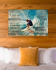 Surfing Today Is Good Day 36x24 Poster poster-landscape-36x24-lifestyle-23