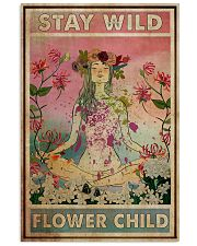Stay Wild Flower Child 24x36 Poster front