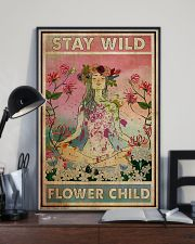 Stay Wild Flower Child 24x36 Poster lifestyle-poster-2