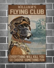 Dog Pilot Club 24x36 Poster aos-poster-portrait-24x36-lifestyle-18