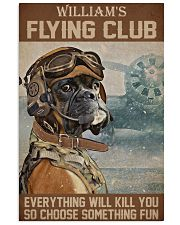 Dog Pilot Club 24x36 Poster front