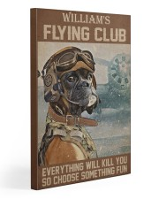 Dog Pilot Club Gallery Wrapped Canvas Prints tile