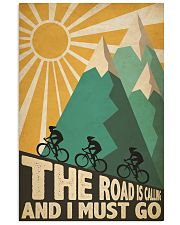 Cycling Road Is Calling 24x36 Poster front