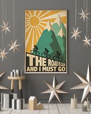 Cycling Road Is Calling 24x36 Poster lifestyle-holiday-poster-1