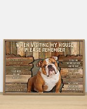 Bulldog When Visiting  36x24 Poster poster-landscape-36x24-lifestyle-03
