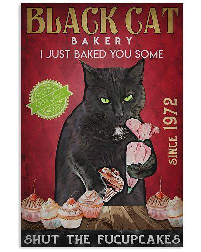 Black Cat Shut The Fucupcakes