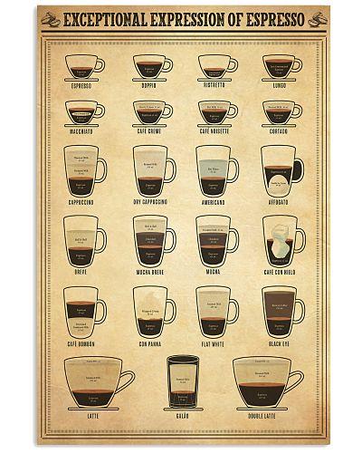 Exceptional Expression Of Espresso