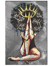 Afro Girl The Lord Is My Shepherd 24x36 Poster front