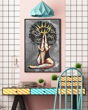Afro Girl The Lord Is My Shepherd 24x36 Poster lifestyle-poster-6