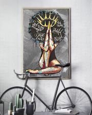 Afro Girl The Lord Is My Shepherd 24x36 Poster lifestyle-poster-7