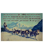 Sled Dog Racing 36x24 Poster front