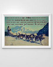Sled Dog Racing 36x24 Poster poster-landscape-36x24-lifestyle-02