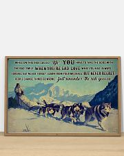 Sled Dog Racing 36x24 Poster poster-landscape-36x24-lifestyle-03