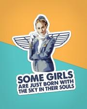 Flight Attendant Sticker - Single (Vertical) aos-sticker-single-vertical-lifestyle-front-02