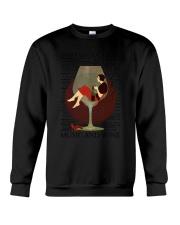 Music And Wine Woman  Crewneck Sweatshirt thumbnail