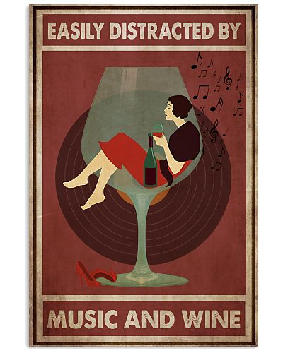 Music And Wine Woman