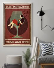 Music And Wine Woman  24x36 Poster lifestyle-poster-1
