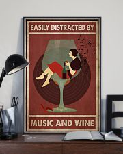 Music And Wine Woman  24x36 Poster lifestyle-poster-2