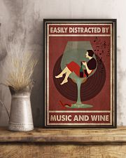 Music And Wine Woman  24x36 Poster lifestyle-poster-3
