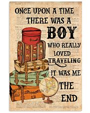 Suitcase Traveling 24x36 Poster front