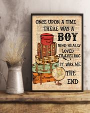 Suitcase Traveling 24x36 Poster lifestyle-poster-3