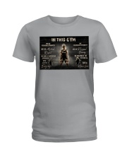 In This Gym  Ladies T-Shirt tile