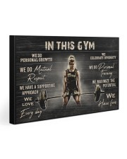In This Gym  Gallery Wrapped Canvas Prints tile