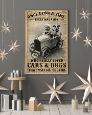 Boy Loved Cars And Dogs 24x36 Poster lifestyle-holiday-poster-1