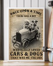 Boy Loved Cars And Dogs 24x36 Poster lifestyle-poster-4