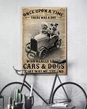 Boy Loved Cars And Dogs 24x36 Poster lifestyle-poster-7