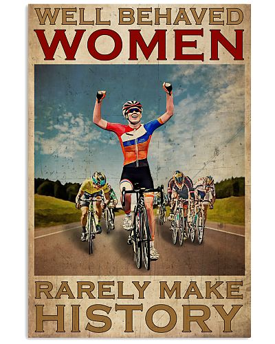 Cycling Well Behaved Women Rarely Make History