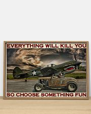 Hot Rod And Airplane Choose Something Fun 36x24 Poster poster-landscape-36x24-lifestyle-03