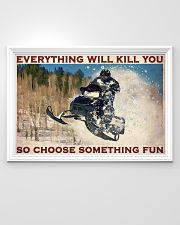 Snowmobile So choose Something Fun 36x24 Poster poster-landscape-36x24-lifestyle-02