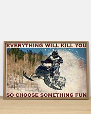 Snowmobile So choose Something Fun 36x24 Poster poster-landscape-36x24-lifestyle-03