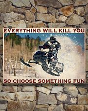 Snowmobile So choose Something Fun 36x24 Poster poster-landscape-36x24-lifestyle-15
