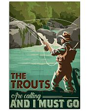 Trout Calling 24x36 Poster front
