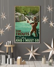 Trout Calling 24x36 Poster lifestyle-holiday-poster-1