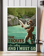 Trout Calling 24x36 Poster lifestyle-poster-4