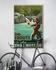 Trout Calling 24x36 Poster lifestyle-poster-7
